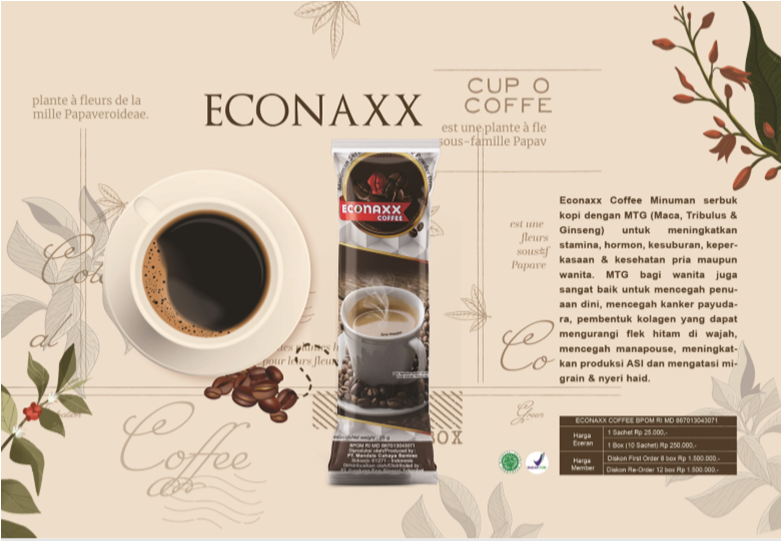 econaxx coffee kopi stamina pria eco racing