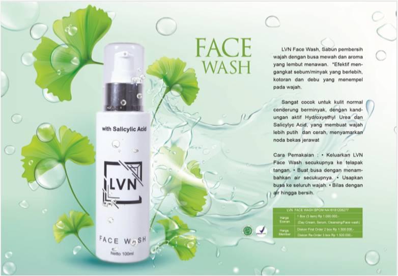 lvn face wash skin care