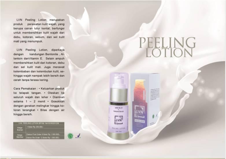 lvn peeling lotion skin care