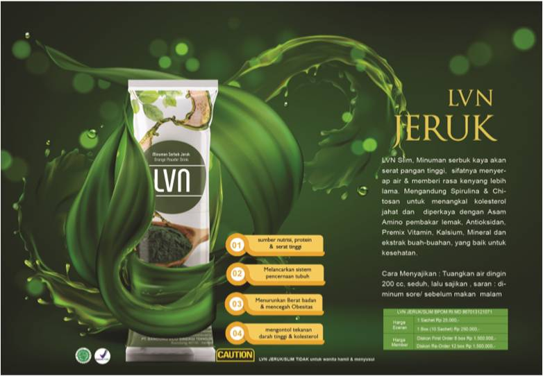lvn slim jeruk produk pt. best eco racing