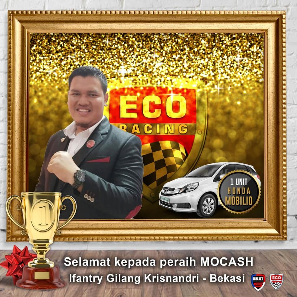 peraih reward mobil cash eco racing gratis