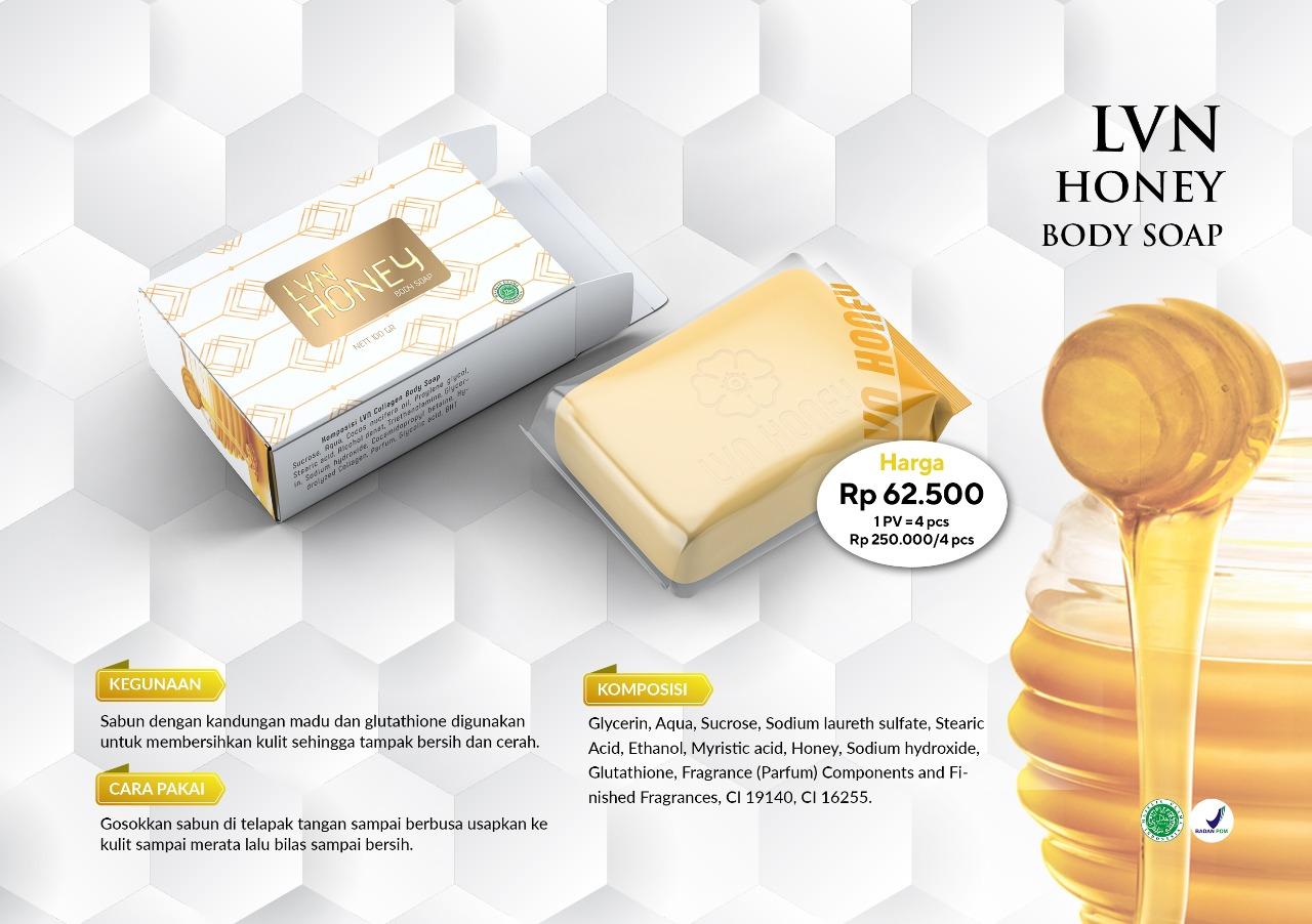 LVN Honey body soap herbal